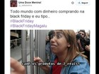 Black Friday inspira memes nas redes sociais