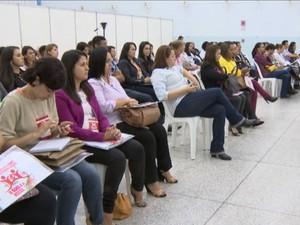 Encontro reuniu representantes de várias cidades da região (Foto: TV Integração/Reprodução)