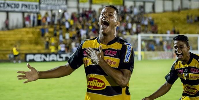 Raphael, Novorizontino, Copa SP, contra o Sergipe (Foto: Wiliam Lima / GR Novorizontino)