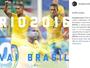 """""""Somos Brasil e vamos lutar sempre"""", vibra Douglas Costa após convocação"""