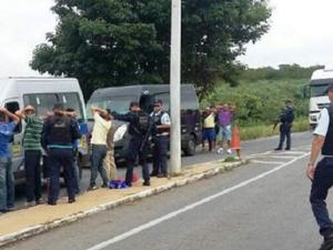 Fiscalização ocorre na CE 085 (Rodovia do Sol Poente), CE 040 (Rodovia do Sol Nascente) e CE 060. (Foto: SSPDS/Divulgação)