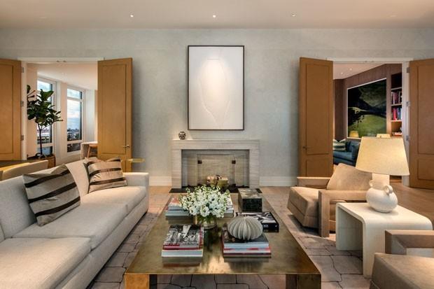 Apartamento de Gisele Bündchen e Tom Brady, em Nova York (Foto: Divulgação)