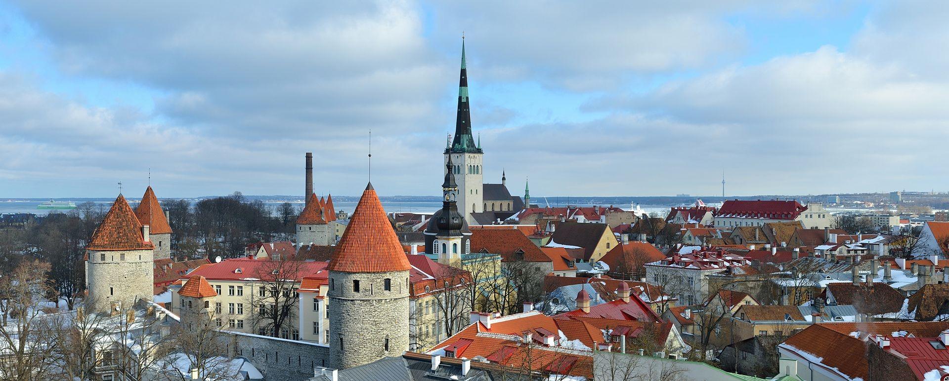 Vista da Cidade Velha em Talim, Estônia (Foto: Ivar Leidus/Wikipédia)
