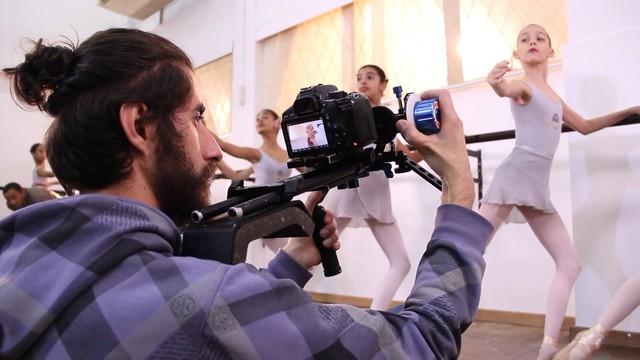 Produtores acompanharam gravações (Foto: RBS TV/Divulgação)