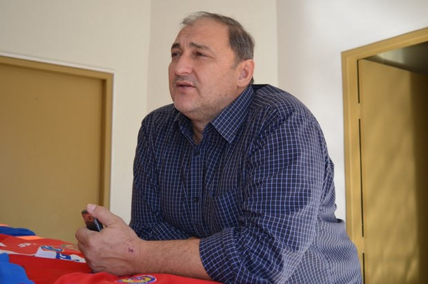 Carlos Dalanhol, presidente do Vilhena (Foto: Jonatas Boni)