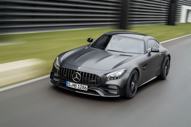 O GT C Edition 50 da Mercedes-AMG. (Foto: Divulgação)