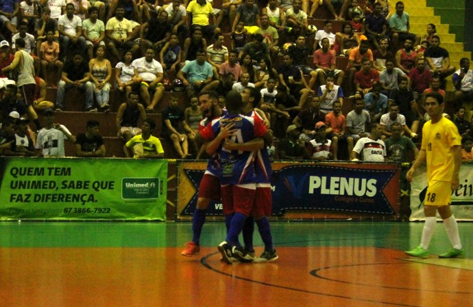 Garapa x Corpo de Bombeiros, Copa TV Grande Rio de Futsal (Foto: Emerson Rocha)