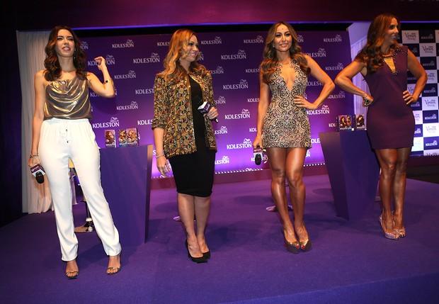 Ivete Sangalo, Solange Almeida, Sabrina e blogueira Camila Coutinho (Foto: Iwi Onodera / EGO)
