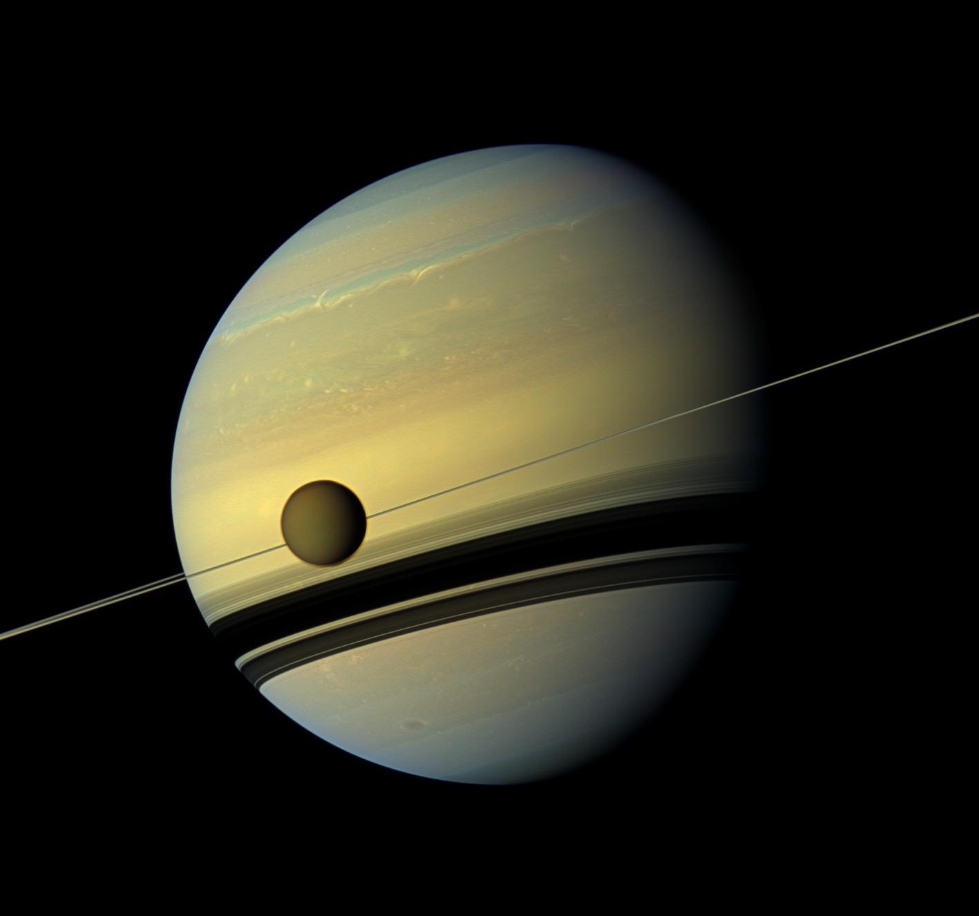 Titã e Saturno (Foto: Wikimedia Commons)