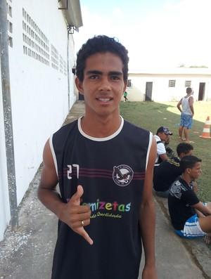 Roberto Matheus, meio-campo do Sub-19 do Juventus (Foto: João Paulo Maia)