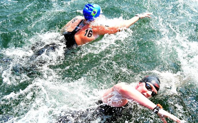 Carolina Bilich; maratonas aquáticas; jogos pan-americanos (Foto: Getty Images)