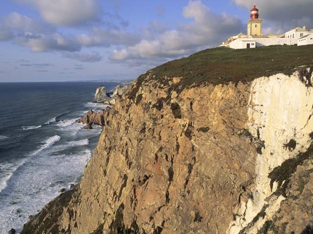 Cabo da Roca, em Portugal, em imagem de arquivo (Foto: Yvan Travert / Photononstop)