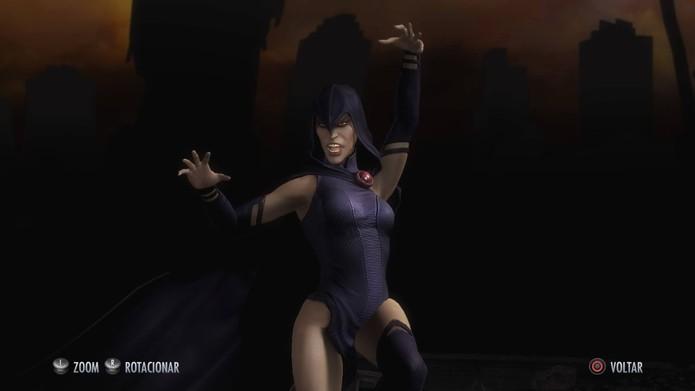 Ravena clássica em Injustice (Foto: Reprodução/Felipe Vinha)