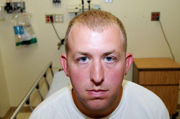 Darren Wilson disse que tomou a decisão por razões de segurança (Foto: St. Louis County Prosecuting Attorney's Office/AP)