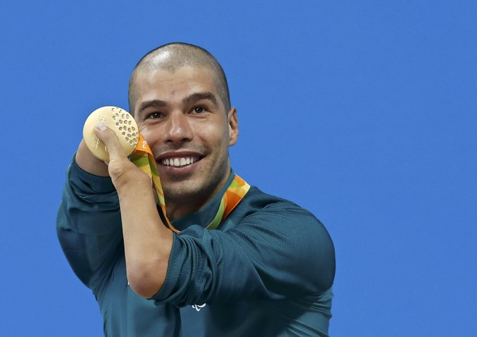 Daniel Dias ouro (Foto: Reuters)