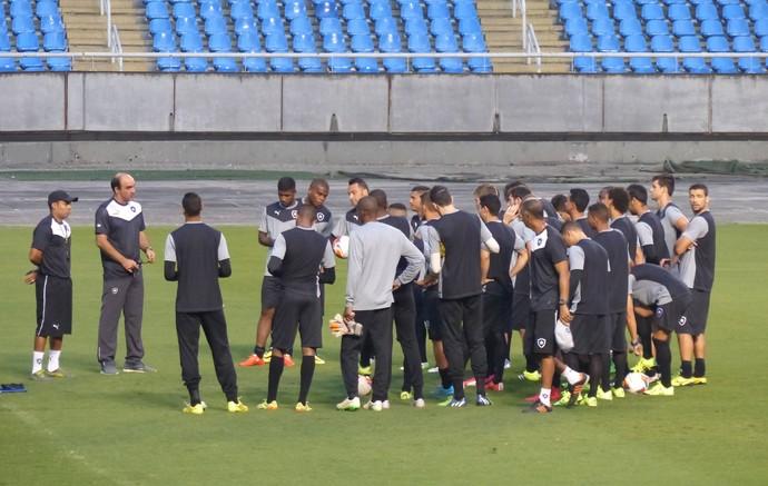 Treino Botafogo 07/09 (Foto: Jéssica Mello)