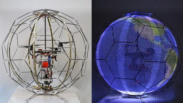 Drone da NTT DoComo é capaz de fazer imagens esféricas (Foto: Divulgação)