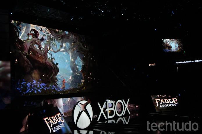 Conferência da Microsoft, na E3 2015 (Foto: Tais Carvalho/TechTudo)