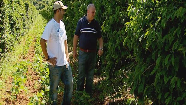 As pesquisas tecnológicas trazem novidades para o agricultor em 2014 (Foto: Reprodução EPTV)