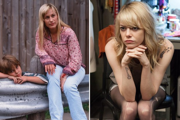 Patricia Arquette tem 'Boyhood' a seu lado, mas Emma Stone é a nova queridinha de Hollywood (Foto: Divulgação)