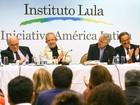 Lula diz que no Brasil e no exterior há tentativa de criminalizar a esquerda