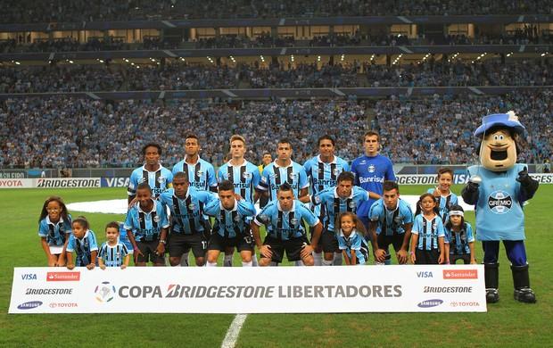 Contra a LDU, Arena recebeu maior público de sua história (Foto: Lucas Uebel/Grêmio FBPA)