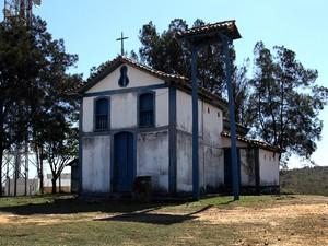 Capela do Senhor Bonfim em Itaúna (Foto: Prefeitura de Itaúna/ Divulgação)