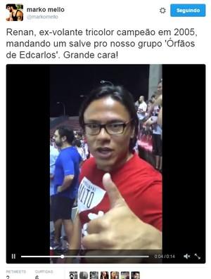 Renan Portuguesa São Paulo Trujillanos Morumbi