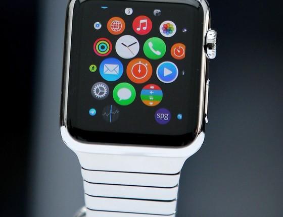 O cobiçado Apple Watch  (Foto: Divulgação)