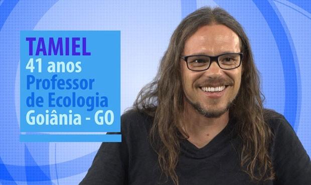Tamiel é um dos novos participantes do BBB (Foto: Divulgação/Globo)