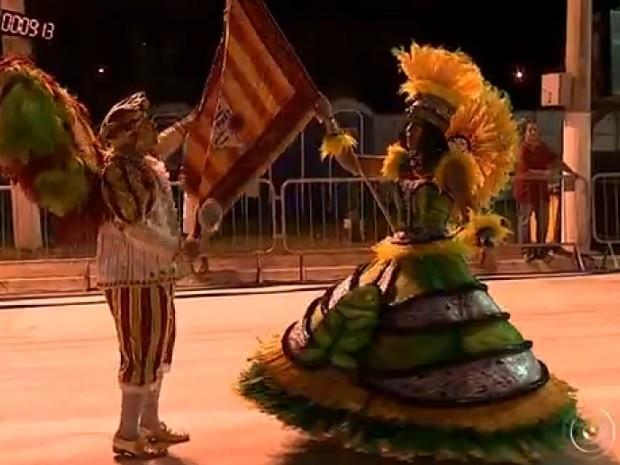 Escola União do Povo promete surpresas para 2017 (Foto: Reprodução TV TEM)