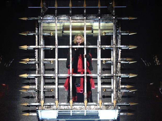 Madonna estreia turnê Rebel heart em Montreal, no Canadá (Foto: Kevin Mazur/ Getty Images/ AFP)
