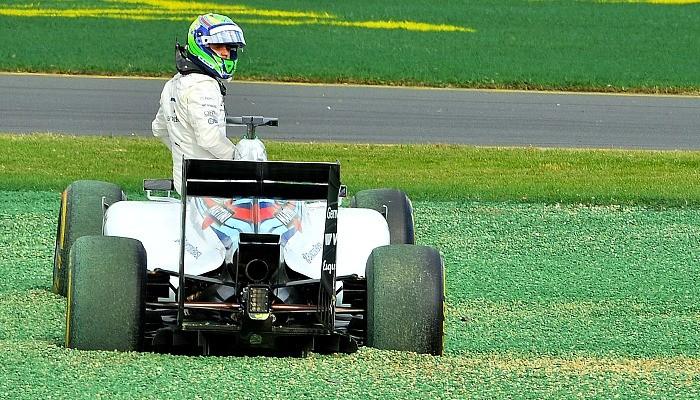 Felipe Massa acidente Williams Austrália