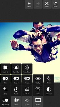 screenshot de Pixlr Express