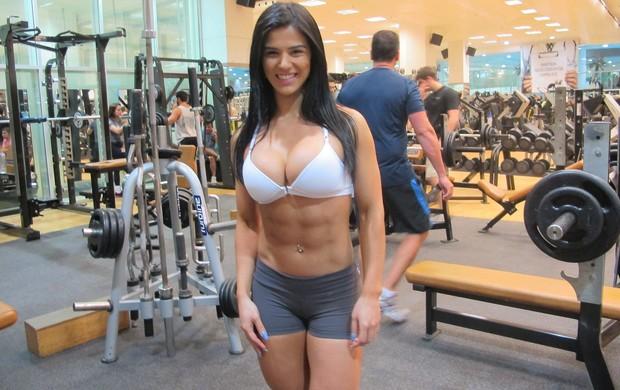 eva andressa fitness eu atleta (Foto: Bebel Clark /Globoesporte.com)