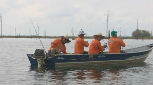 As equipes são composta de até quatro competidores (Foto: Bom Dia Amazônia)
