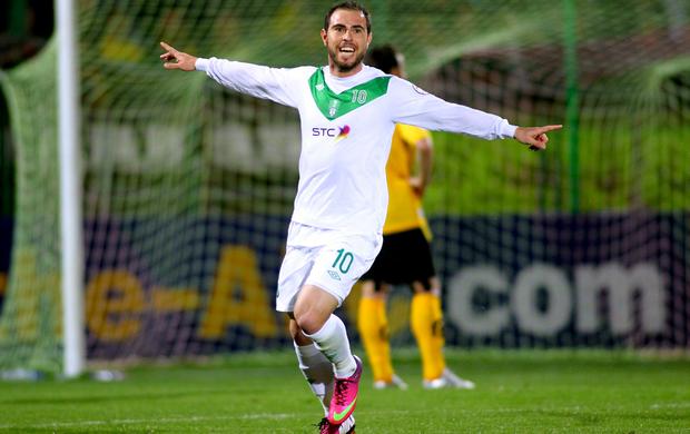 Bruno César Al Ahli (Foto: AFP)