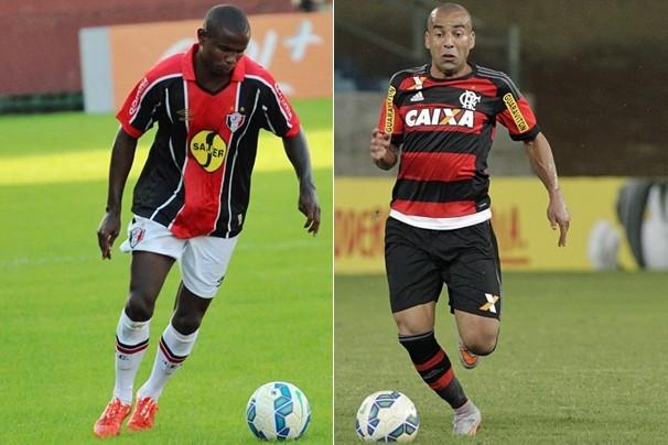 Pelo Campeonato Brasileiro, a maior parte do país vê a partida Joinville x Flamengo, na Arena Joinville (Foto: Fotos: globoesporte.com)
