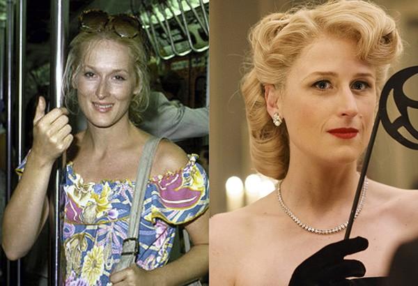 Meryl Streep e Mamie Gummer aos 32 anos (Foto: Reprodução)