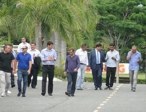 Delegação do Chile visita a Toca da Raposa II (Foto: Mauricio Paulucci)