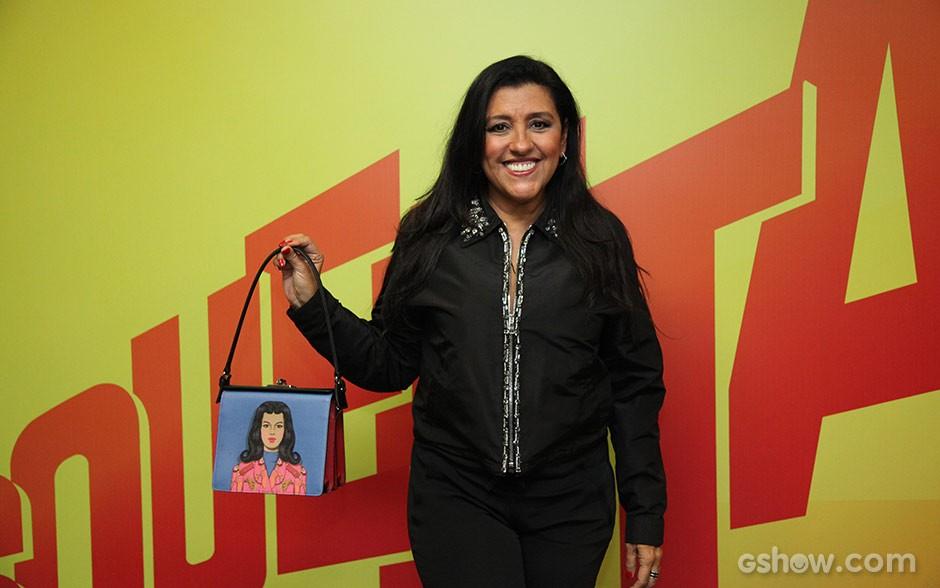 Regina Casé (Foto: Carol Caminha / TV Globo)