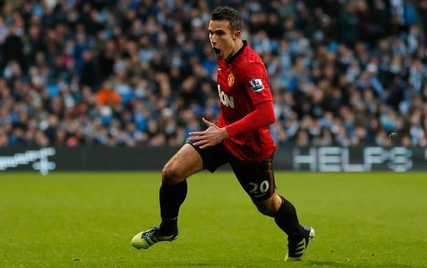 Van Persie gol Manchester United (Foto: Reuters)