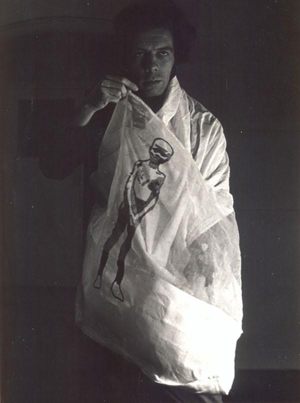 Um dos retratos da exposição de Oiticica em cartaz na Millan (Foto: Divulgação)