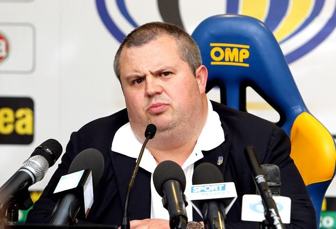 Tommaso Ghirardi presidente do Parma (Foto: Agência Getty Images)