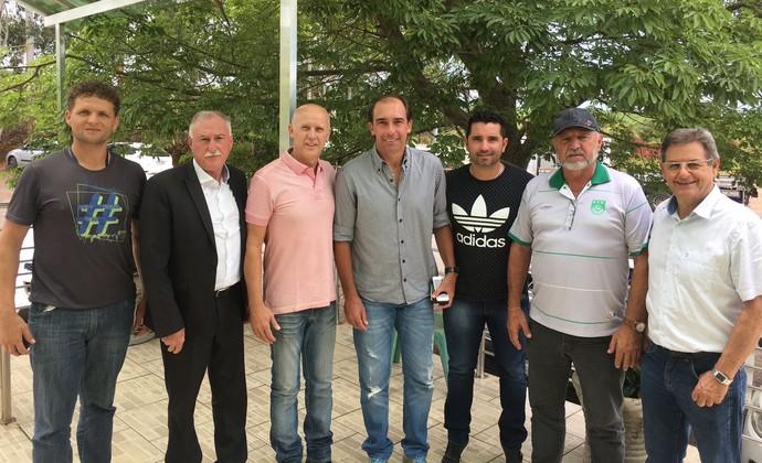 Paulo Baier é anunciado como técnico do Panambi (Foto: Divulgação / S. E. R. Panambi)