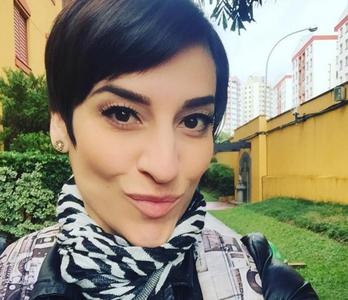 Simone Gutierrez comemora o sucesso da novela: 'Foi incrível' (Foto: Arquivo Pessoal)