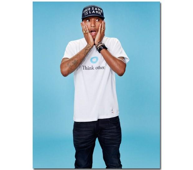 Pharrell Williams para Uniqlo (Foto: Reprodução)