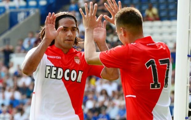 Falcao Monaco Leicester City (Foto: Reprodução / Site Oficial)