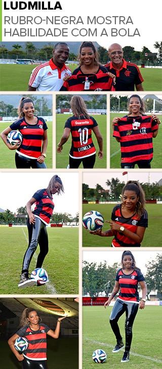 MOSAICO - Ludmilla Flamengo entrevista (Foto: André Durão)