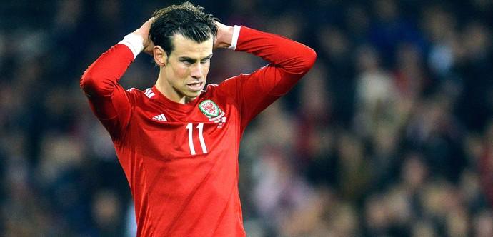 Gareth Bale, País de Gales X Chipre (Foto: Agência Reuters)
